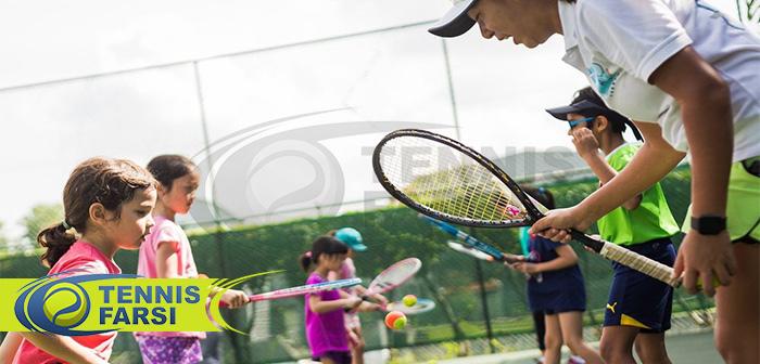 نگرانی های مربی تنیس