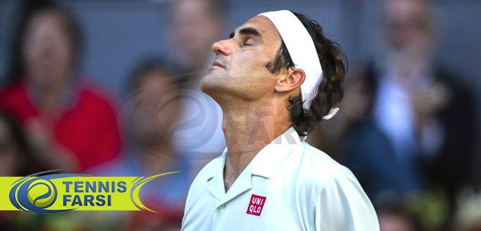 تنیس مسترز مادرید راجر فدرر