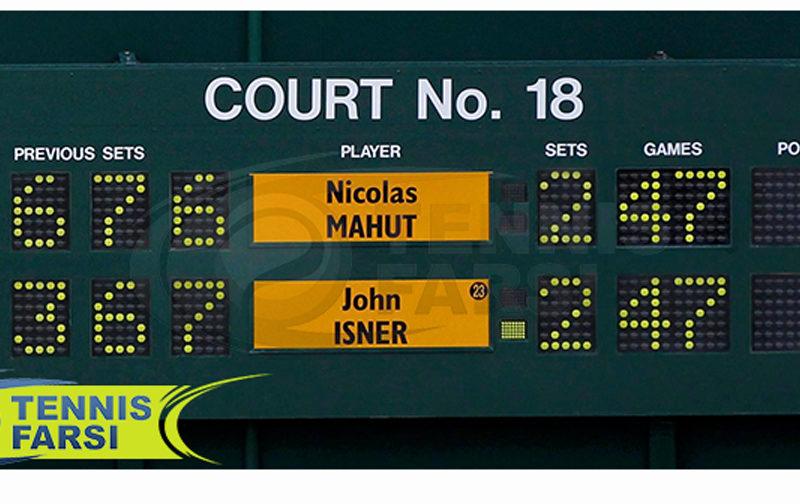 نحوه امتیازدهی تنیس
