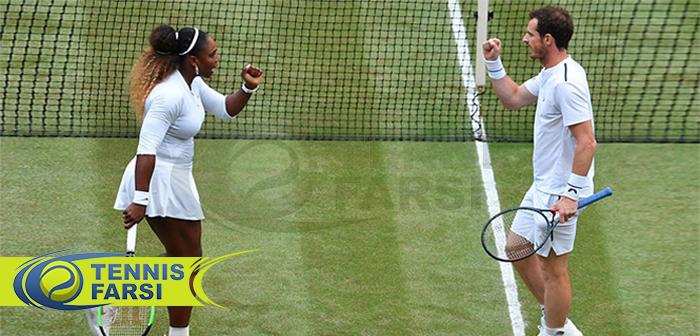 موفقیت در تنیس - اندی مورای و سرنا ویلیامز