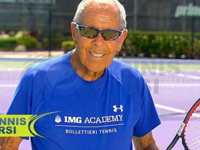 نیک بولتری - حرکات کششی تنیس