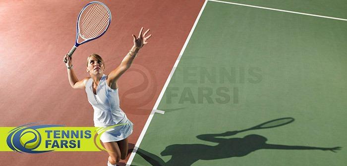 مهارت های تنیس آموزش تنیس