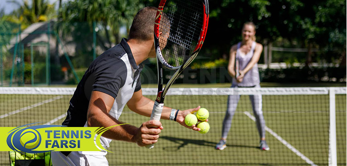 چگونگی توسعه مهارت ها در جلسات تمرینی ضربات آزاد تنیس
