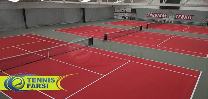 هزینه بازی تنیس بر اساس موقعیت مکانی