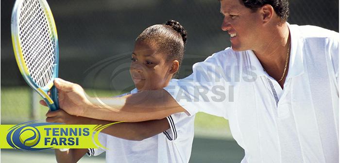 تمارین تنیس مختص افراد زیر 7 سال
