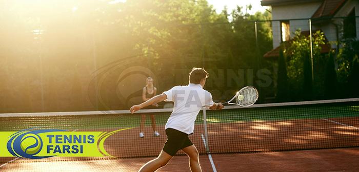 راکت های کنترلی تنیس