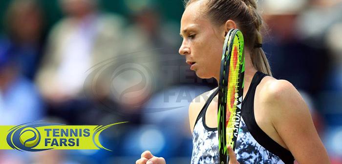 چشم انداز یک بازیکن تنیس