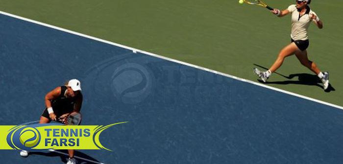 سرویس به نقطه T / تنیس دونفره