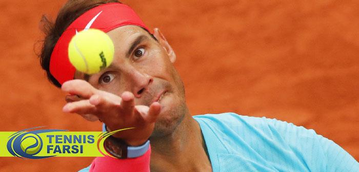 رافائل نادال تنیس آزاد فرانسه ۲۰۲۰