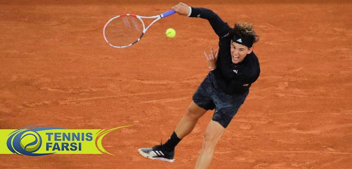 دومینیک تیم تنیس آزاد فرانسه ۲۰۲۰