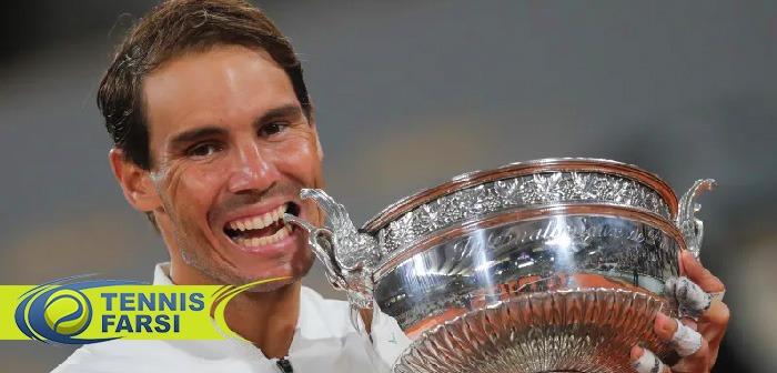 قهرمانی رافائل نادال تنیس آزاد فرانسه ۲۰۲۰