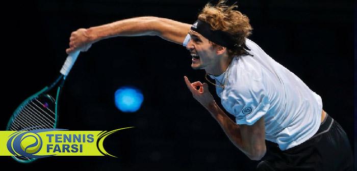 الکساندر زورف تور جهانی تنیس ۲۰۲۰