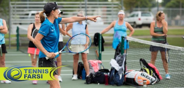 تکنیکهای پایهای تنیس