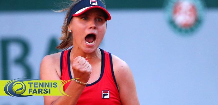 سوفیا کنین بهترین تنیسباز زن