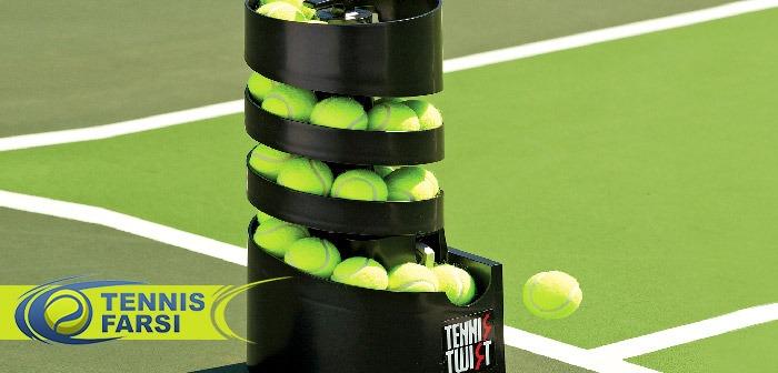 دستگاه پرتاب توپ تنیس