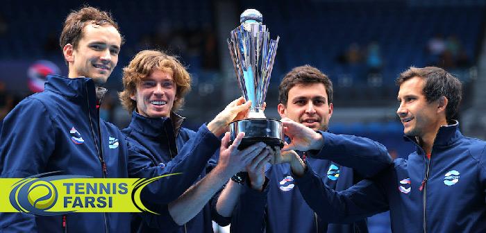 فینال مسابقات ATP CUP